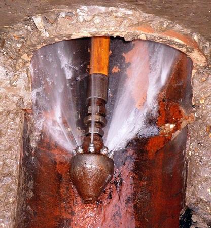 Commercial Plumbing Water Heating Boiler Room Gas Lines